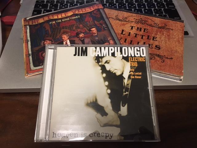 Jim Campilongoとテレキャスターのギラギラ、ビリビリした関係