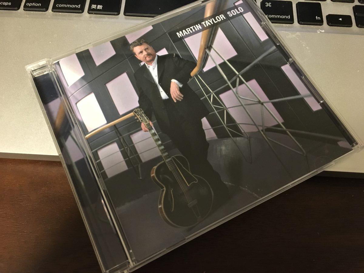 とっつきやすいジャズ・ソロギターのアルバム Martin Taylor 「Solo」