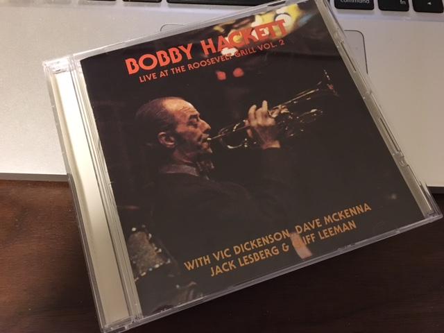 のどかで豊かなジャズのライブ Bobby Hackett 「Live at Roosevelt Grill Vol.2」