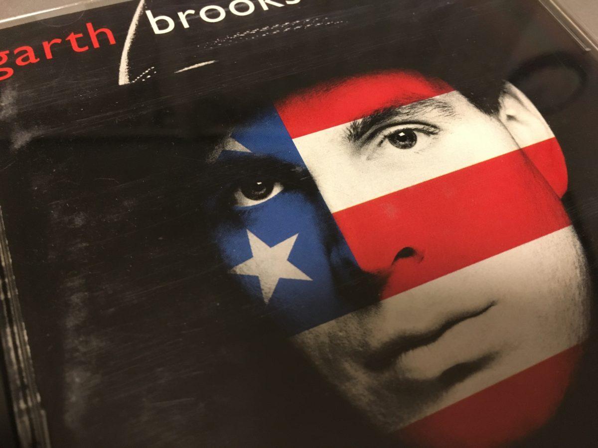 """私のカントリーミュージックへの入り口 Garth Brooks """"the hits"""""""