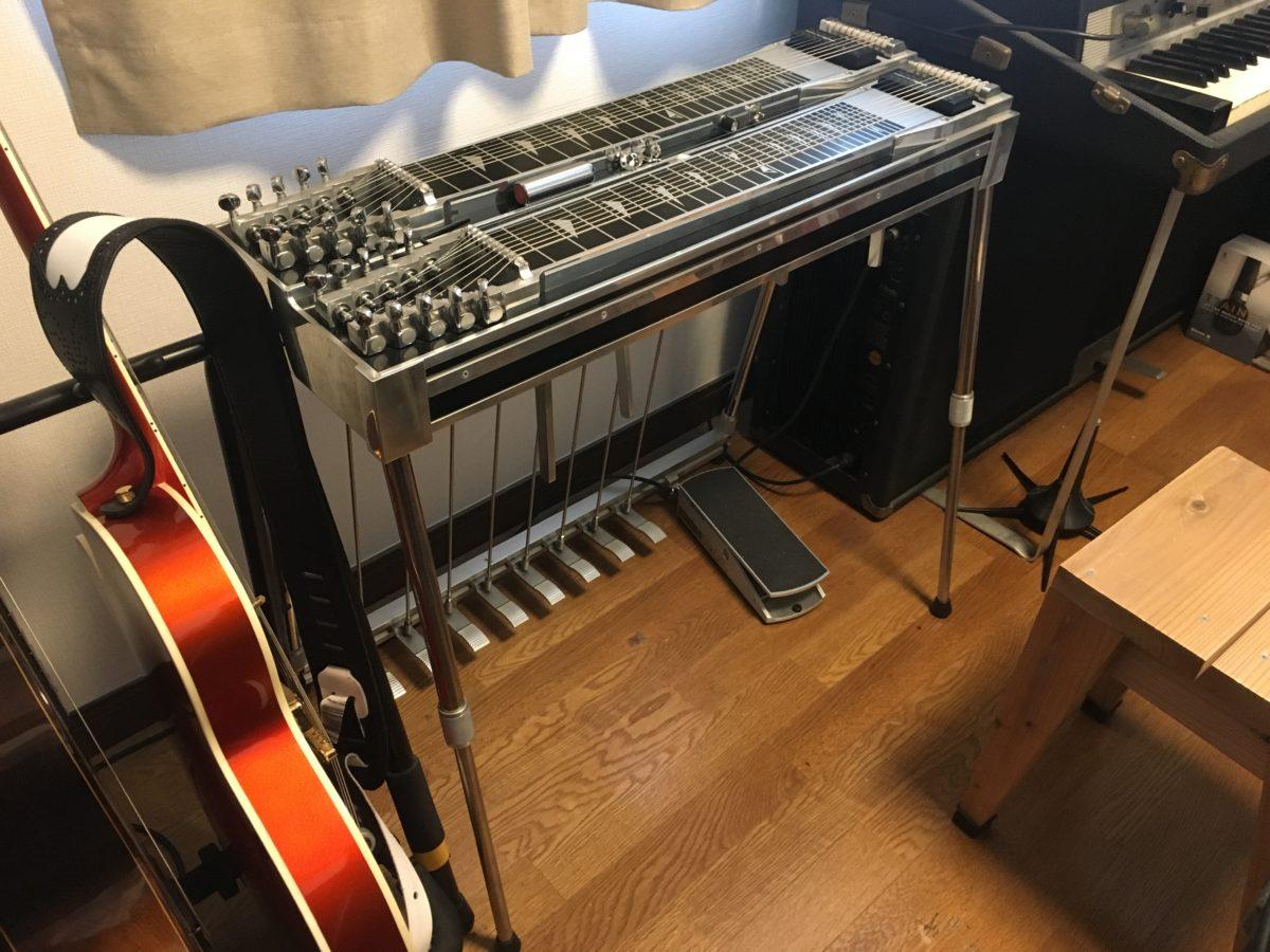 Pedal Steel Guitar、ペダルスチールギター、PSG!
