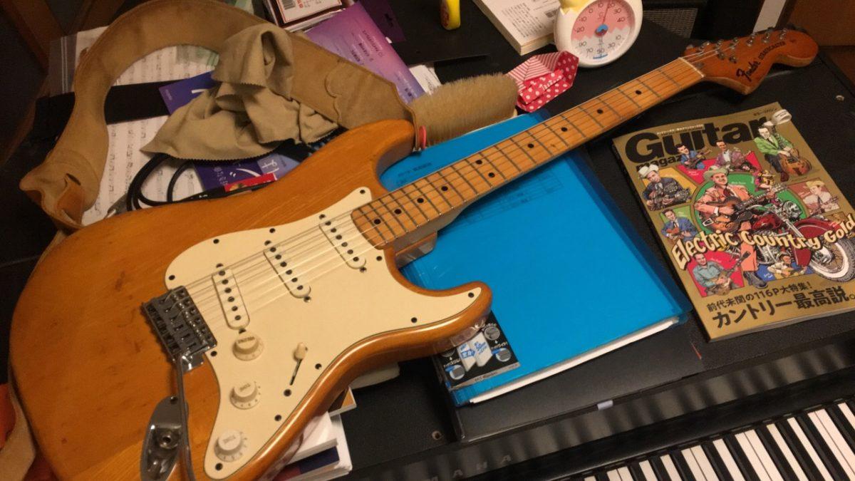 嗚呼、ラージヘッド、3点止め、Fender Stratocaster 1974!