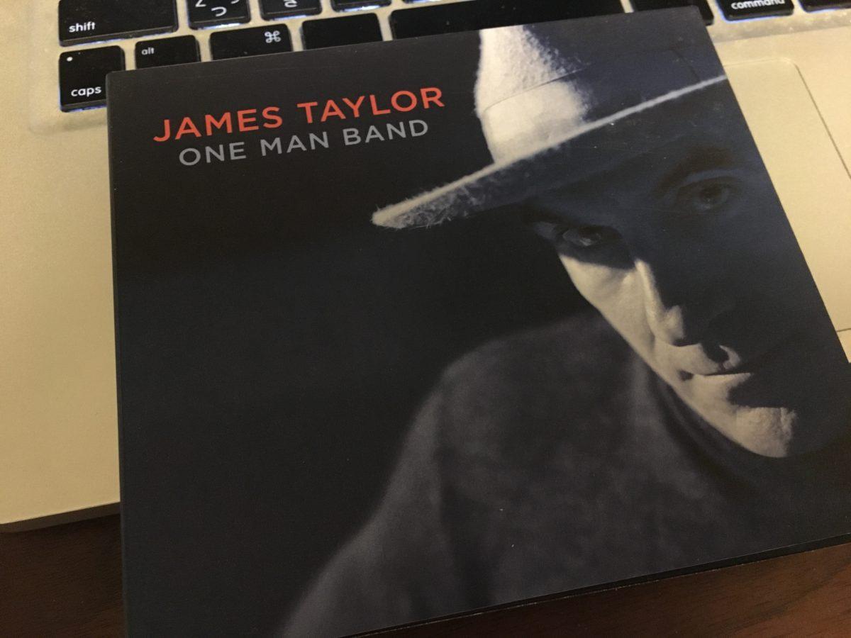落ち着いて、安心して聴けるJames Taylor