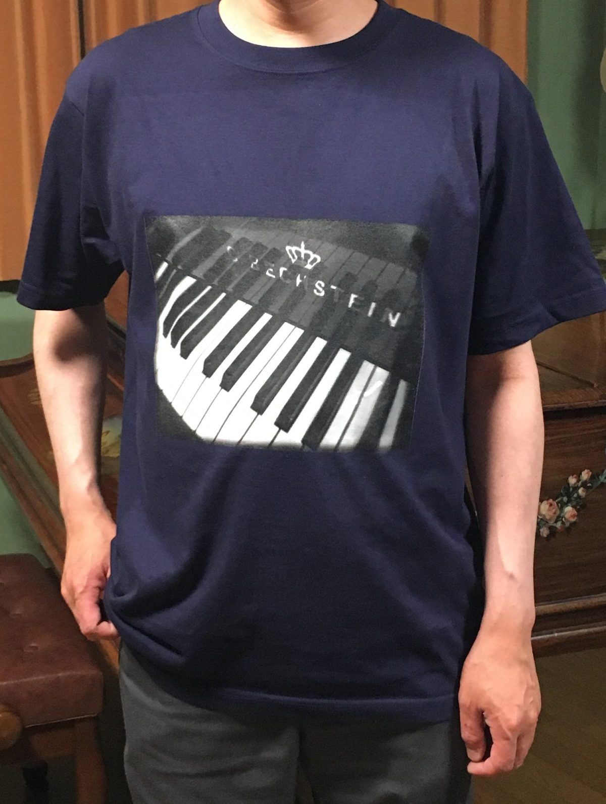 ピアノのT Shirtを作った