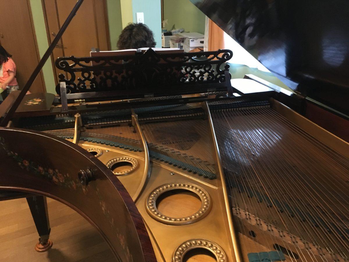 憧れのピアニストがやってきた! C. BECHSTEIN Vを弾きに。
