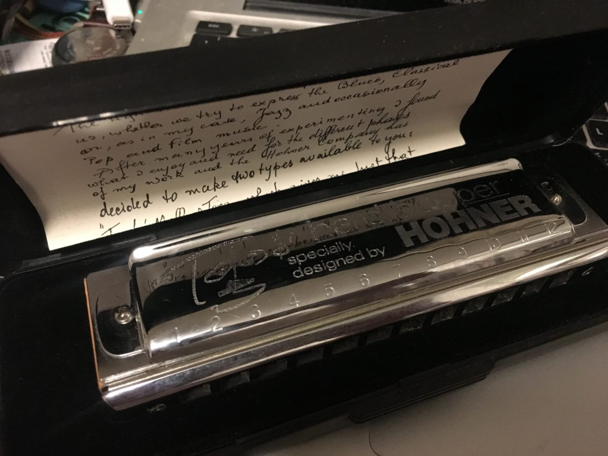 Dear Harmonica Friend, Toots Thielemans