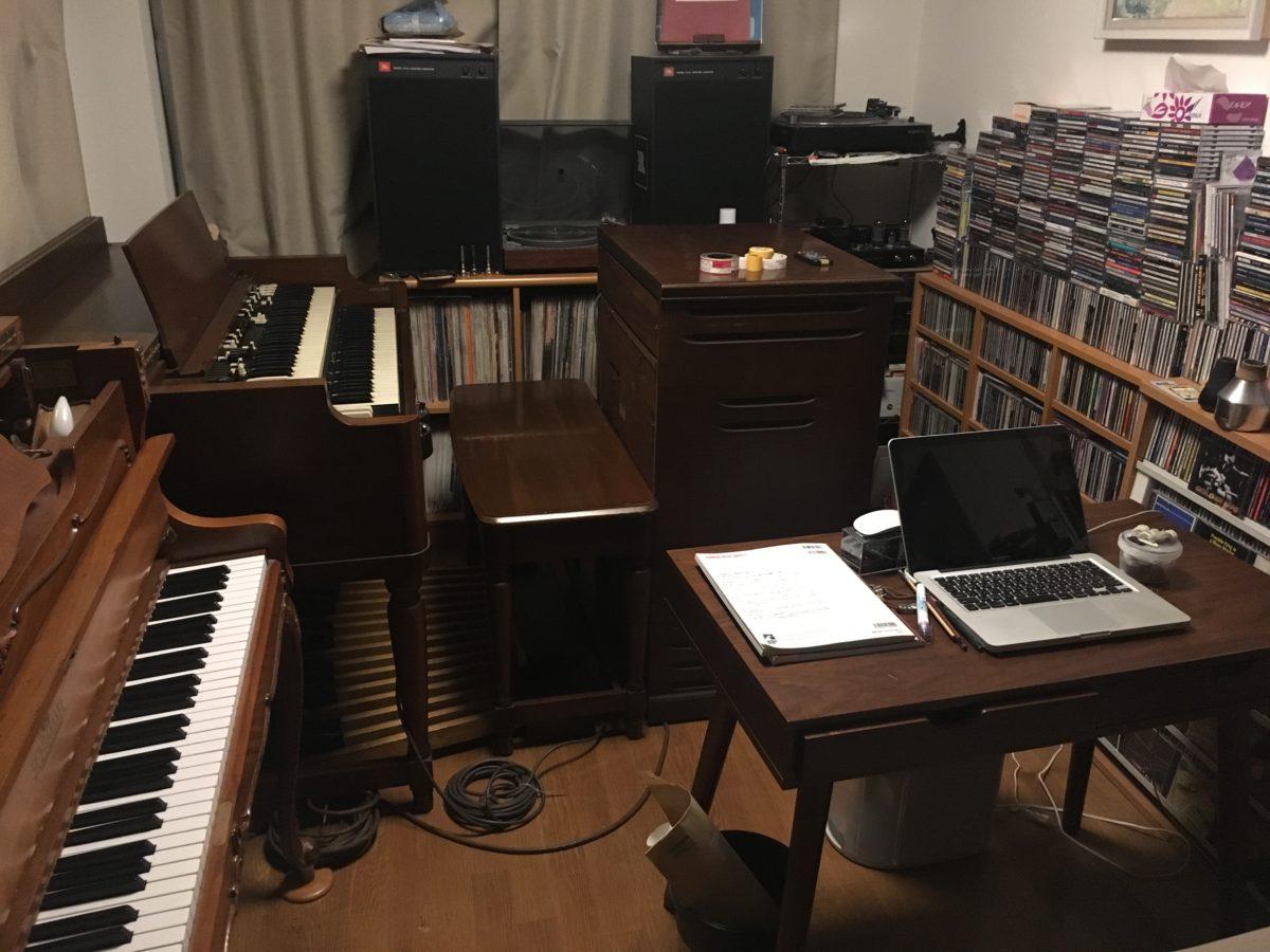 Hammond B3がやってきた