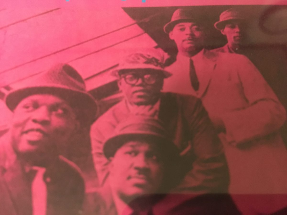 どうです?この悪そうなジャケ写。 The modern jazz Disciplesが案外良かった。 New Jazz悪くないかも。