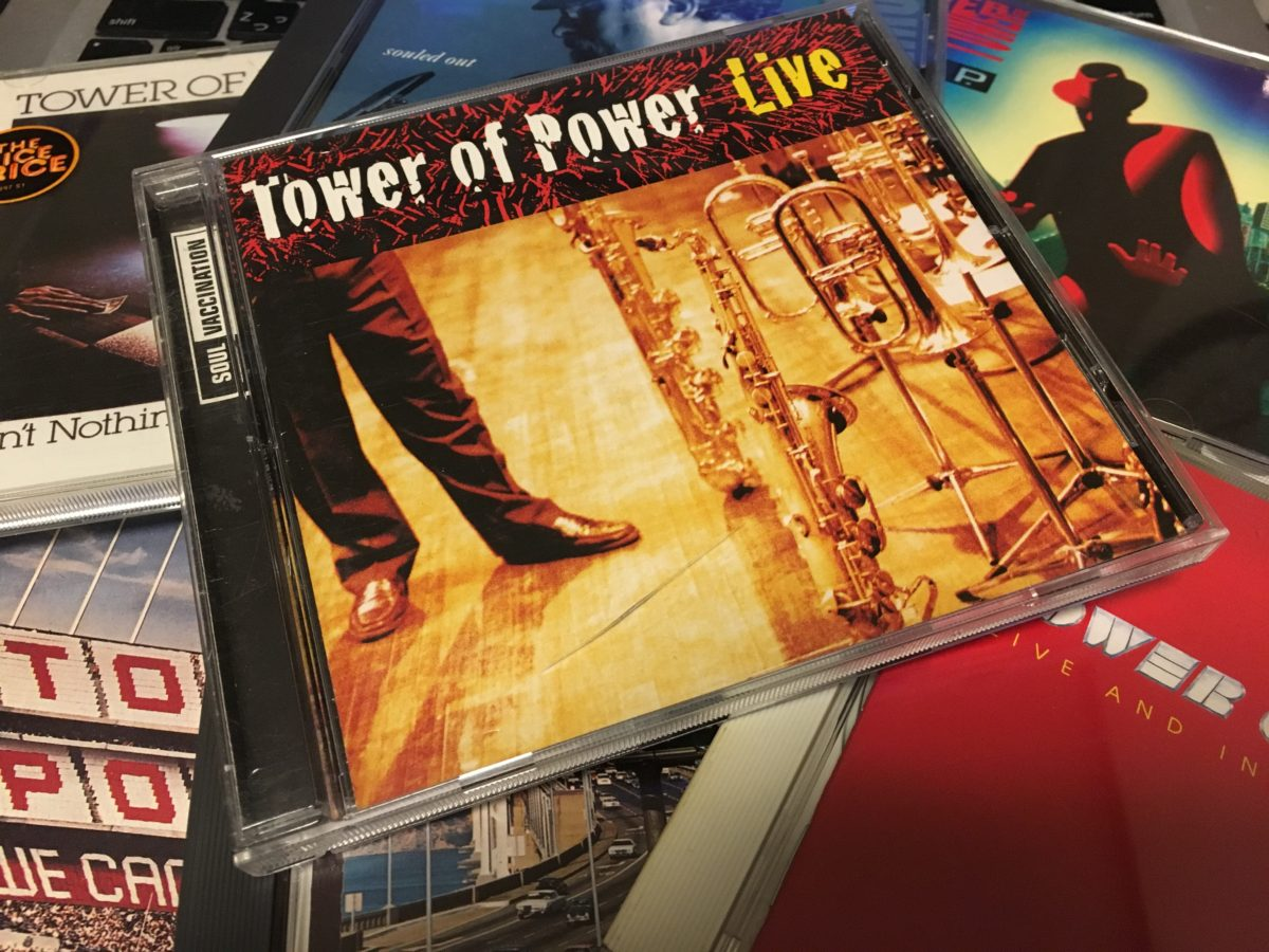 """Tower of Power, Tower of Power! """"Diggin' on James Brown"""""""