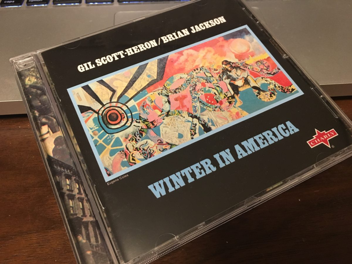 アメリカの詩人Gil Scott-Heron Winter in America
