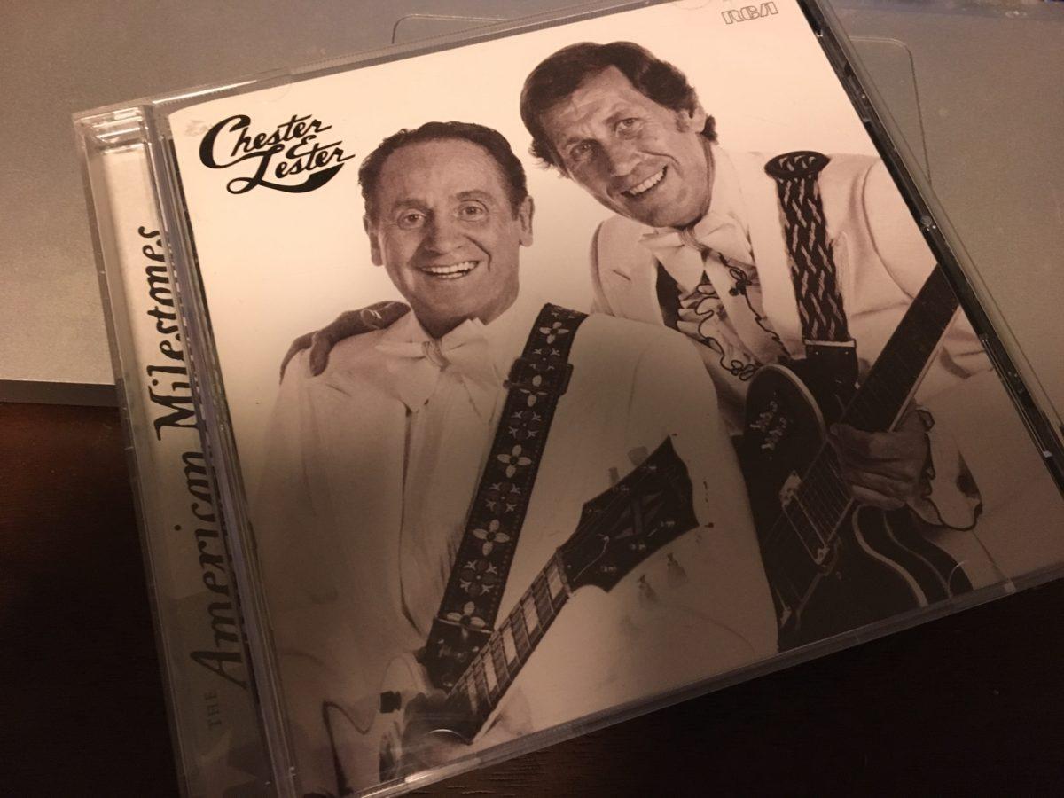 じっくり聴けるアルバムは多くないけれど、素晴らしい音楽家 Chet Atkins