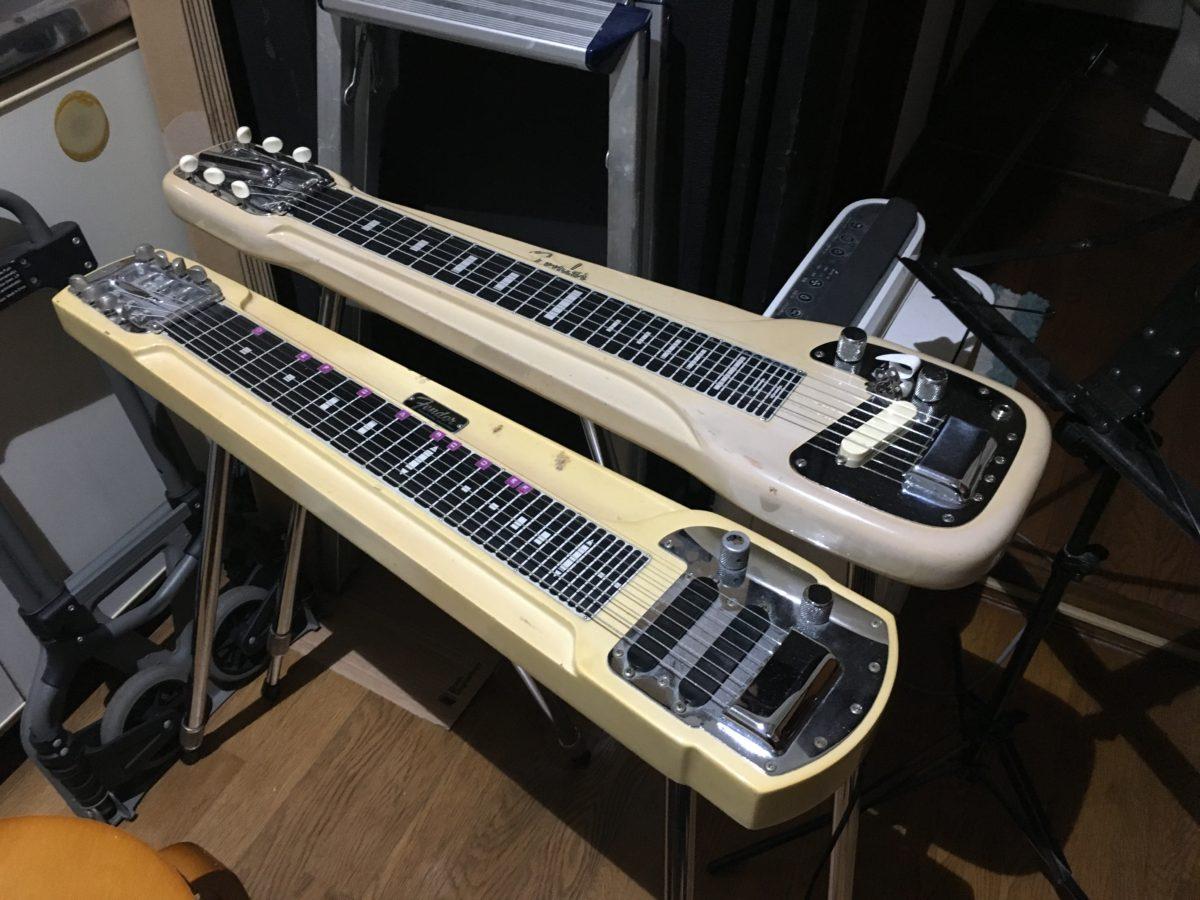 6弦、8弦それぞれの魅力 Fender Steel Guitars